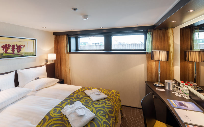 Deluxe stateroom on Avalon Impression