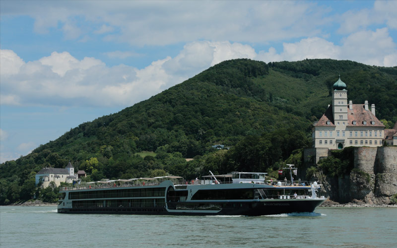 Avalon Impression sailing in Wachau, Austria