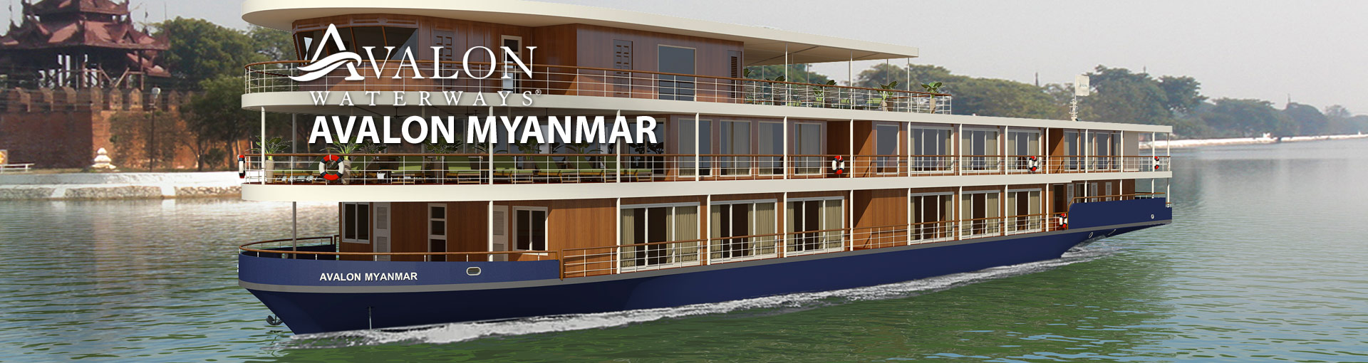 Avalon Myanmar River Cruise Ship