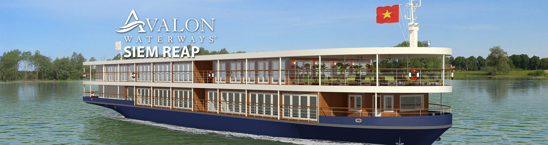 Avalon Siem Reap River Cruise Ship