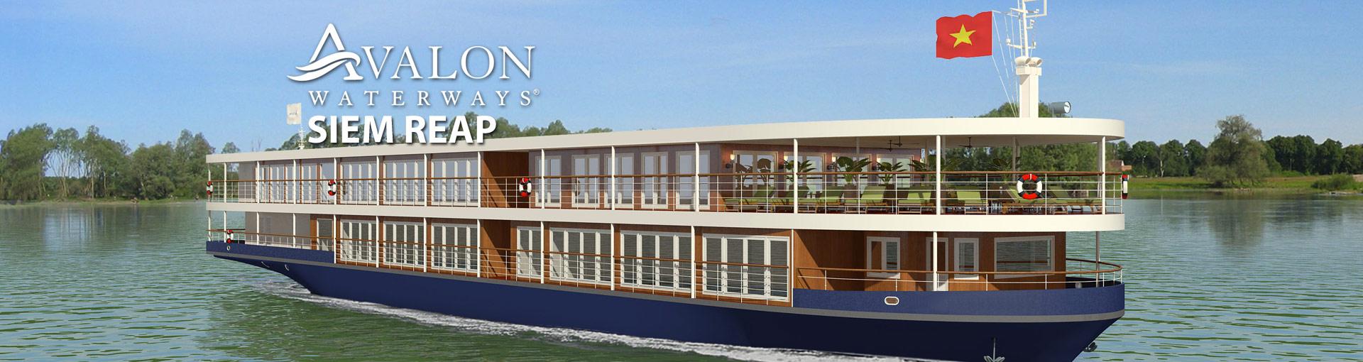 Avalon Siem Reap River Cruise Ship