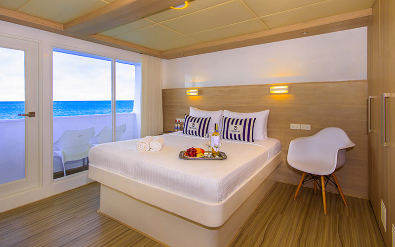 Double Suite aboard Avalon Treasure of Galapagos