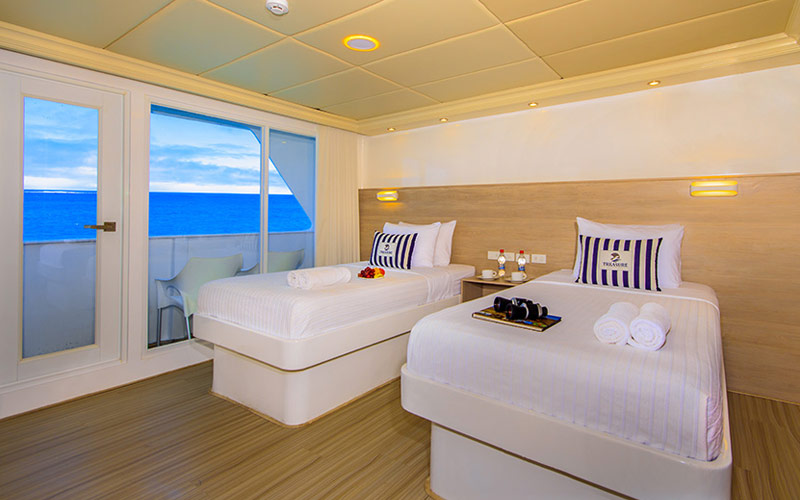 Twin Suite on Avalon Treasure of Galapagos