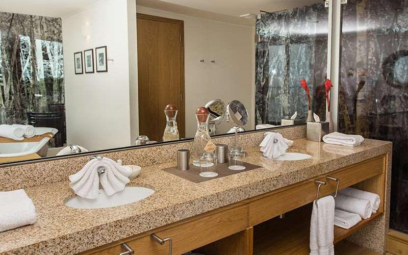 Suite Bathroom aboard Avalon Deflin III