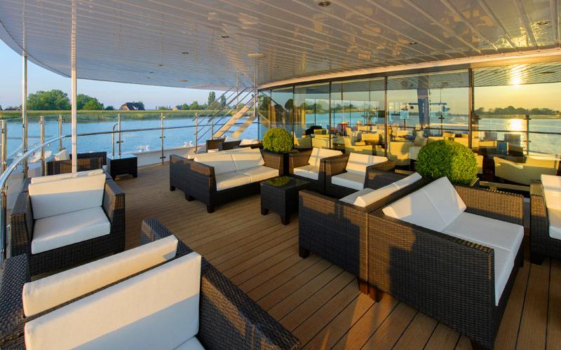 Observation Lounge aboard Avalon Envision