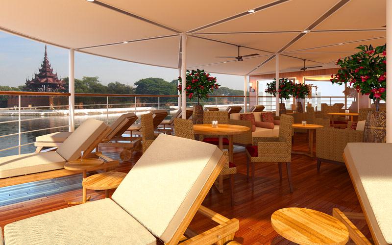 Avalon Myanmar Observation Lounge