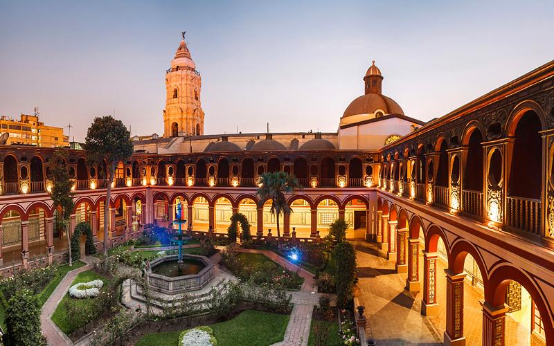 Santo Domingo Monastery Lima Peru Avalon Waterways