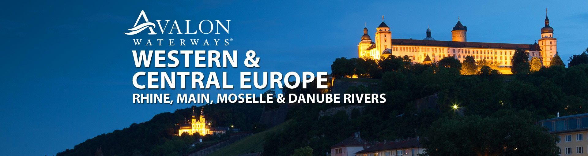 Avalon Waterways River Cruises to Western and Central Europe