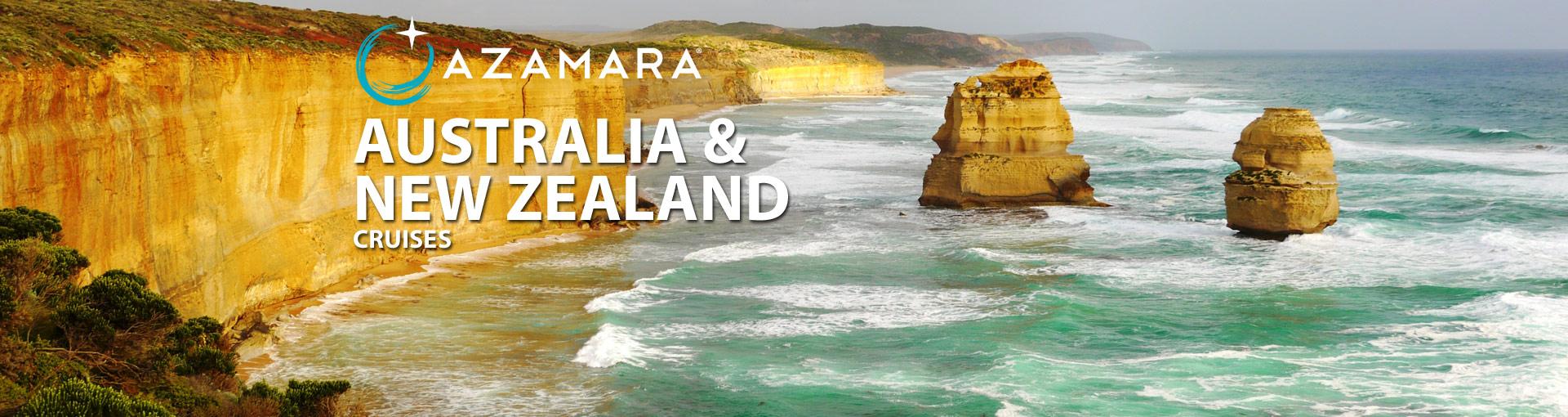 Azamara Club Cruises Australia and New Zealand