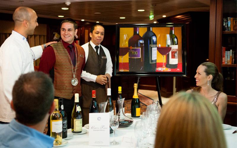 Azamara Club Cruises Azamara Quest Chefs Table