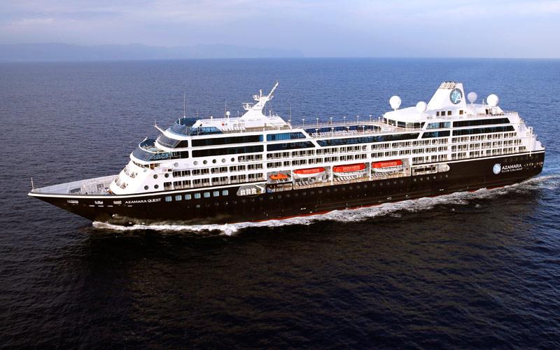 Azamara Club Cruises Azamara Quest exterior