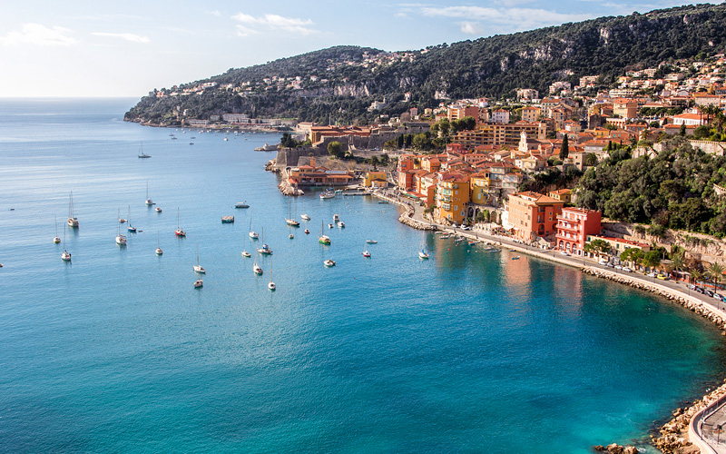 Eze Sur Mer Beach South of France Azamara Cruises
