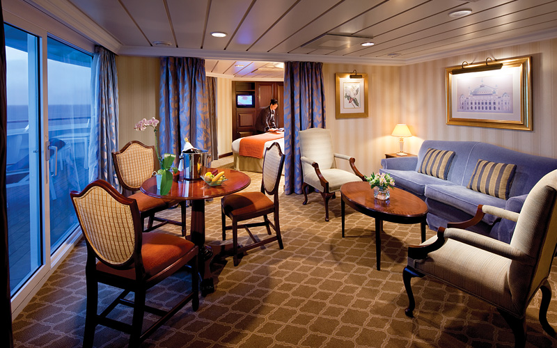 Biggest Cruise Ship Suite Detlandcom - Best rooms on a cruise ship carnival