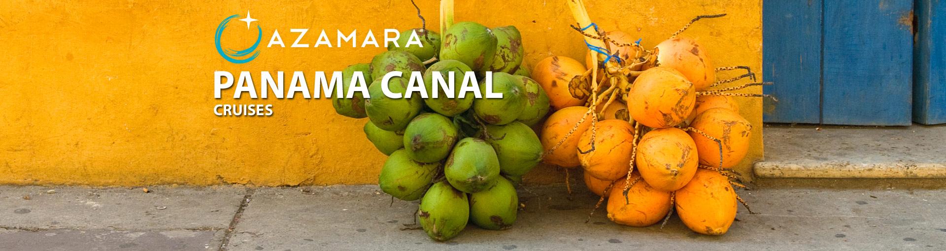 Azamara Club Cruises Panama Canal Cruises