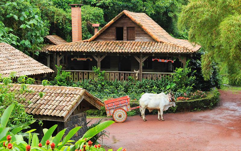 Traditional Costa Rican home Azamara Cruises
