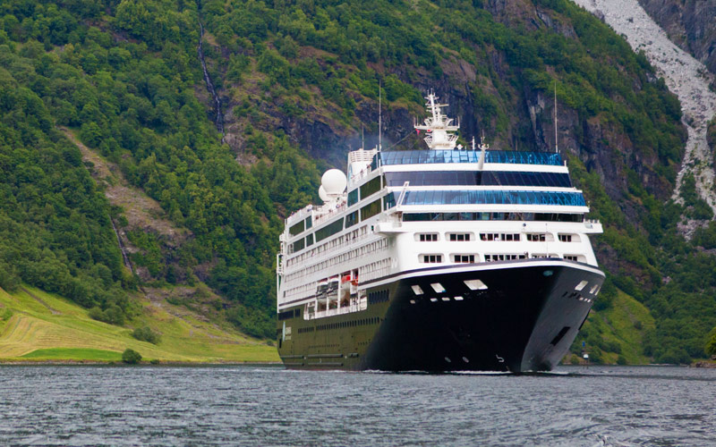 Exterior of Azamara Pursuit