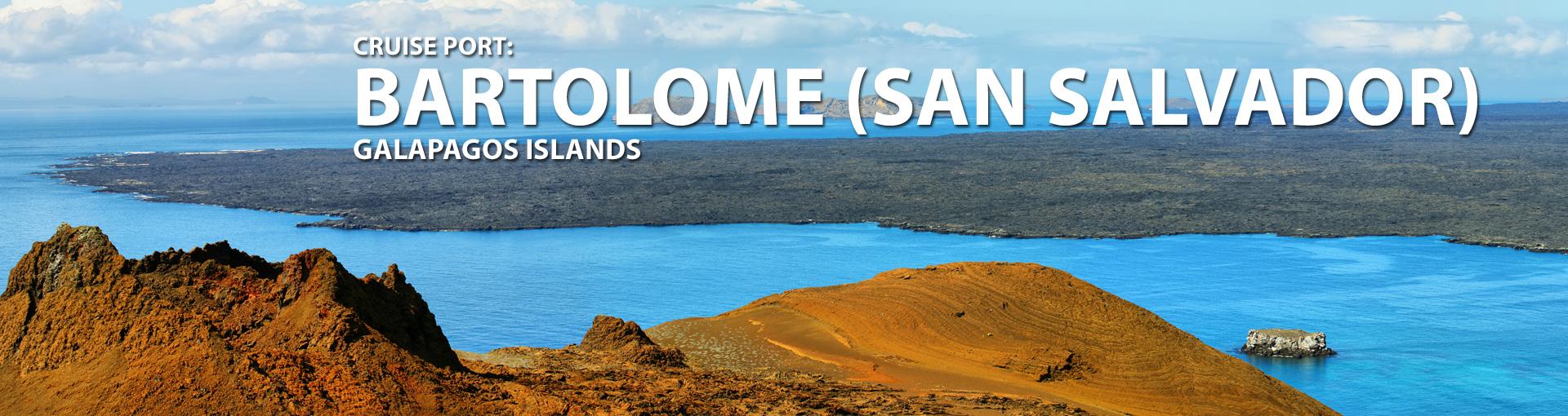 Bartolome (san Salvador), Galapagos Islands Port