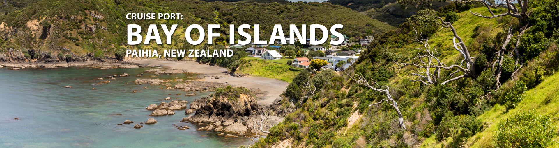 Cruises to Bay of Islands (Paihia), New Zealand