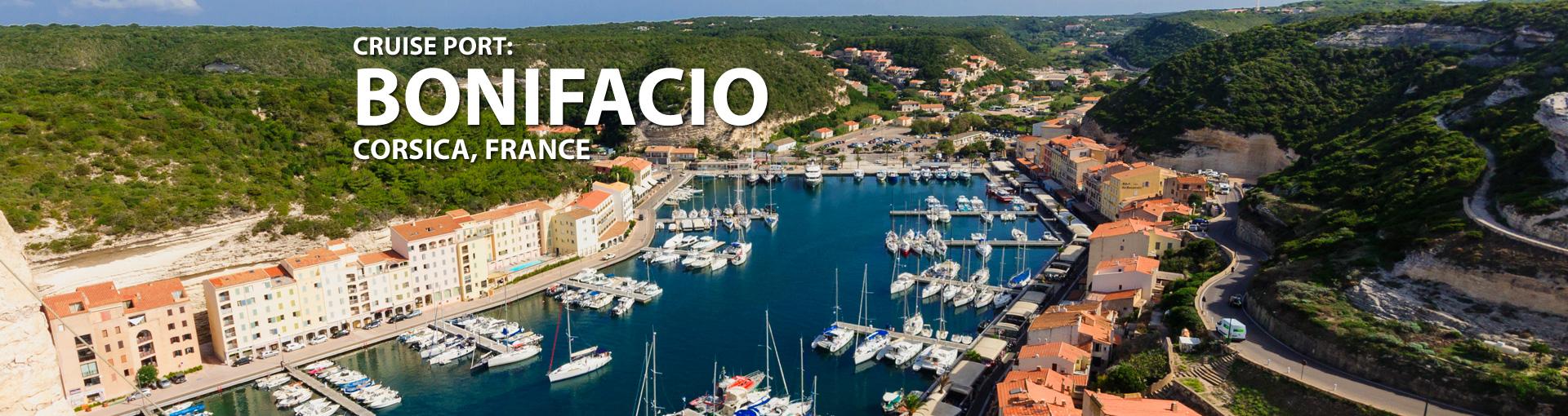 Cruises to Bonifacio, Corsica, France
