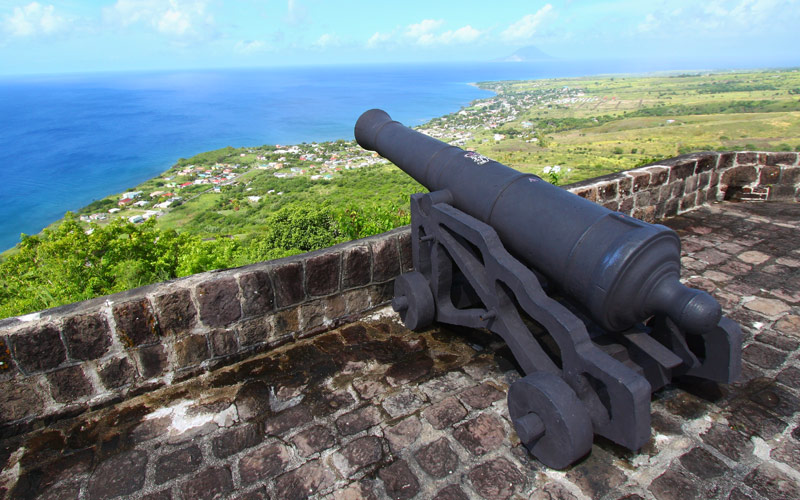 Brimstone Hill Fortress National Park St. Kitts
