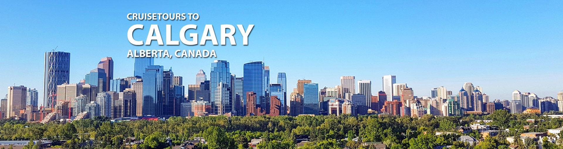 Cruisetours to Calgary, Alberta