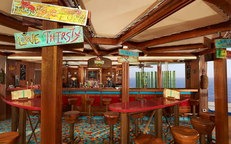Carnival Cruise Line Carnival Breeze Red Frog Bar