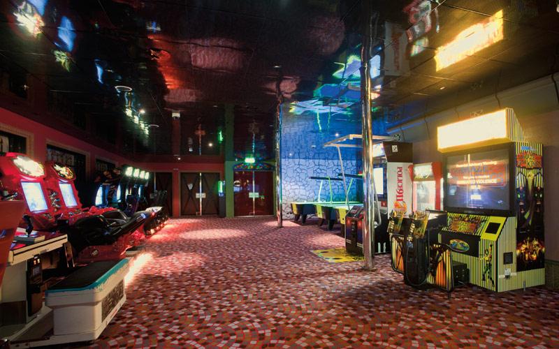 Carnival Cruise Line Carnival Conquest Arcade