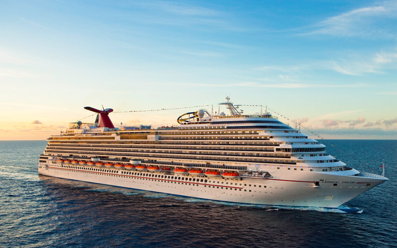 Carnival Cruise Line Carnival Dream exterior 02