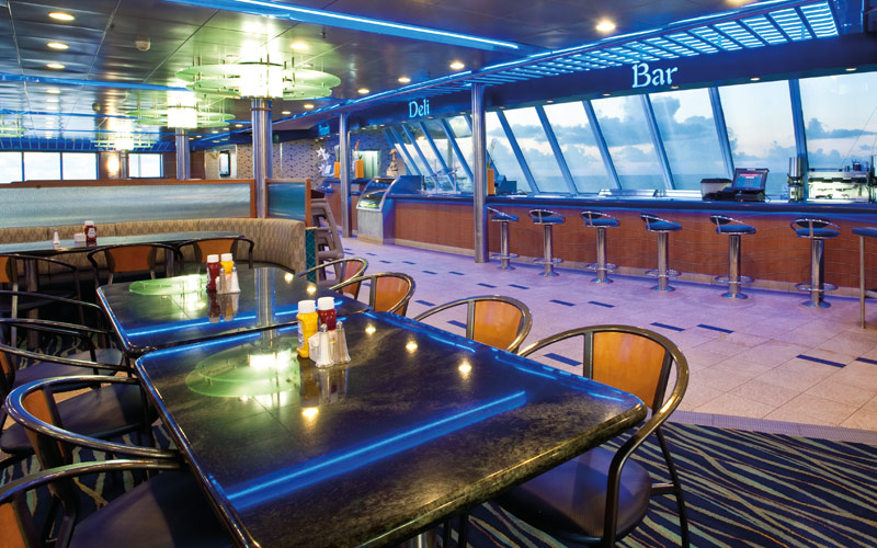 Carnival Cruise Line Carnival Ecstasy Lido dining