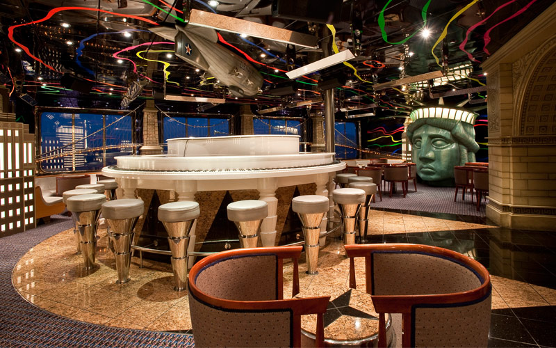 Carnival Cruise Line Carnival Elation Piano Bar