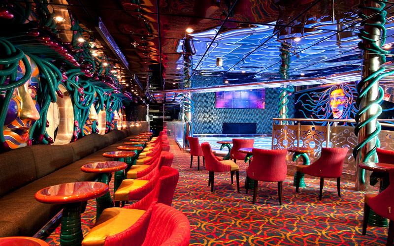 Carnival Cruise Line Carnival Legend Medusa disco