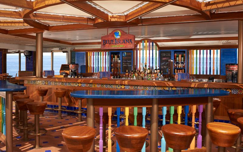 Carnival Cruise Line Carnival Liberty Blue Iguana