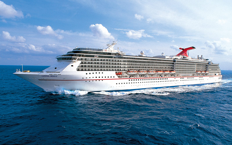 Carnival Miracle Cruise Ship 2018 And 2019 Carnival