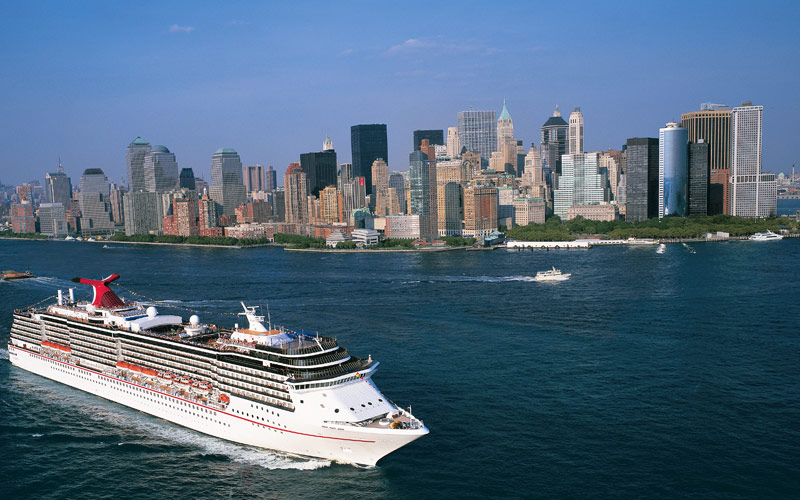 Carnival Cruise Line Carnival Miracle New York ext