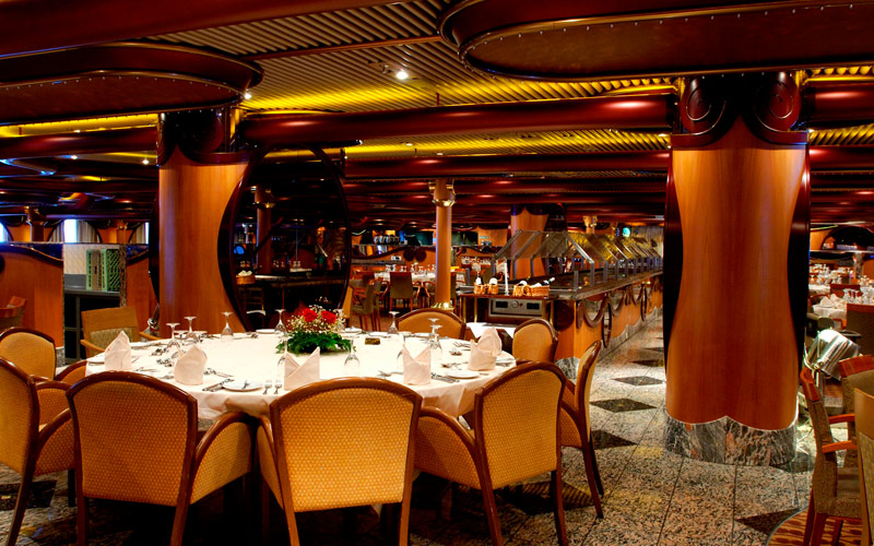 Carnival Cruise Line Carnival Paradise Dining Room