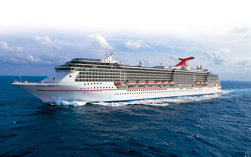 Carnival Pride Cruise Ship, 2017 and 2018 Carnival Pride ...