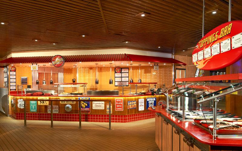 Carnival Cruise Line Carnival Sunshine Guys Burger