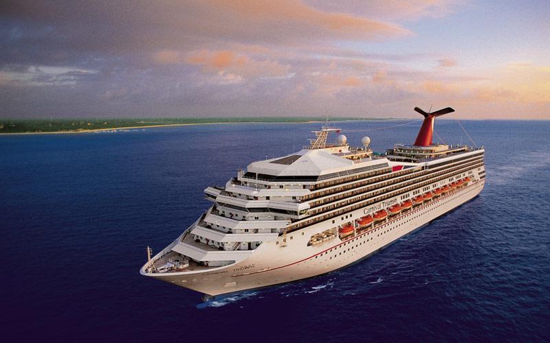 Carnival Cruise Line Carnival Triumph exterior