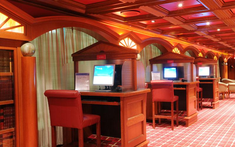 Carnival Cruise Line Carnival Triumph Internet Caf