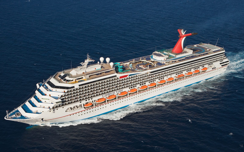 Carnival Cruise Line Carnival Valor exterior 01