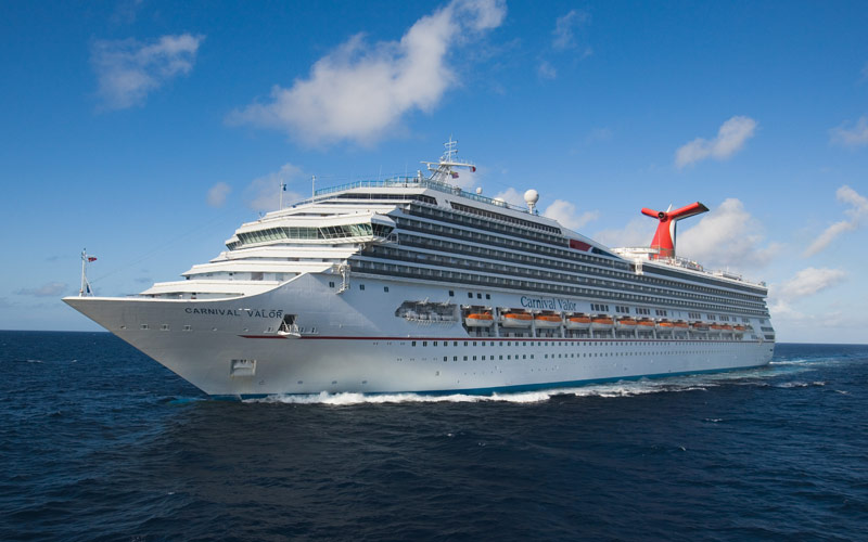 Carnival Cruise Line Carnival Valor exterior