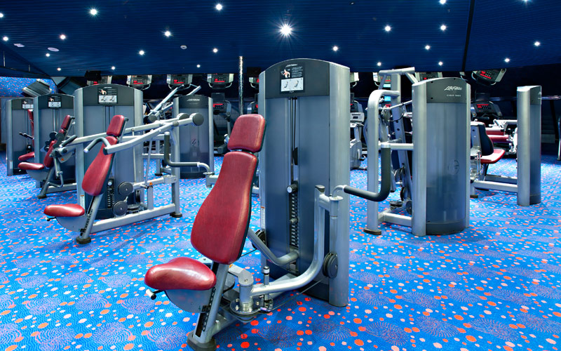 Carnival Cruise Line Carnival Victory Fitness Cent