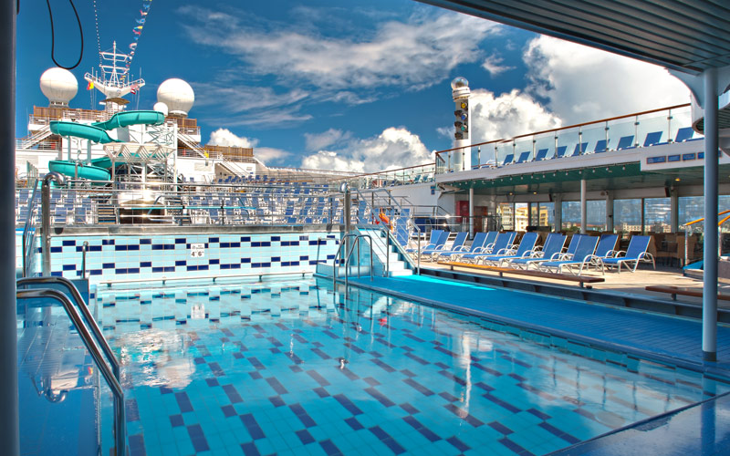 Carnival Cruise Line Carnival Victory Tritons Pool