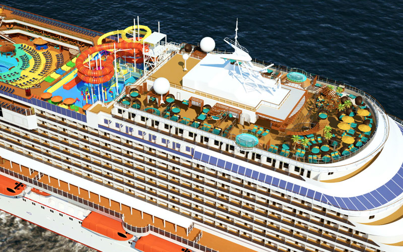 Carnival Vista Cruise Ship 2018 And 2019 Carnival Vista