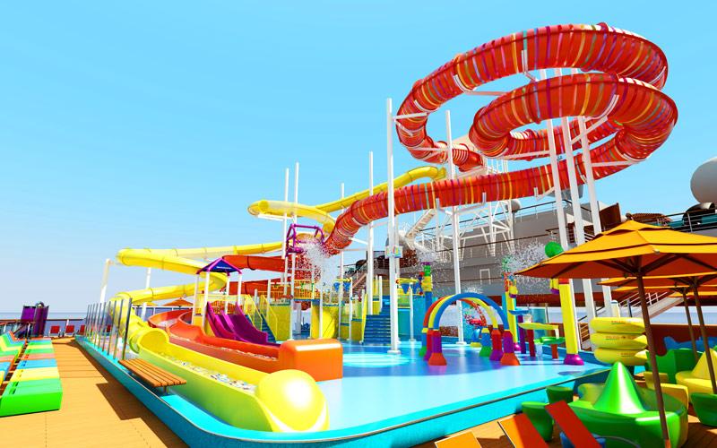 Carnival Vista WaterWorks Aqua Park