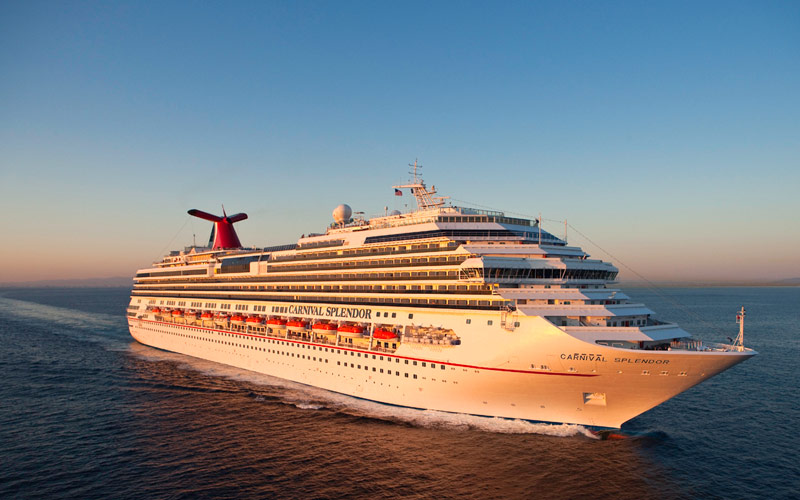 Carnival Splendor Cruise Ship 2018 And 2019 Carnival