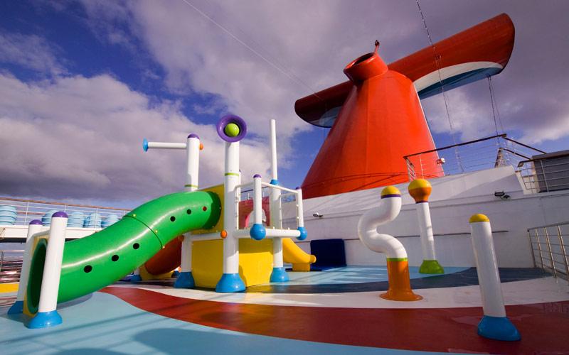 Carnival Cruise Line Carnival Splendor Splash Park