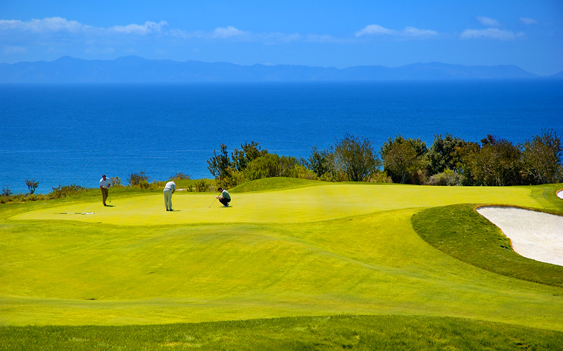 Golf near Santa Catalina Island Carnival Cruises
