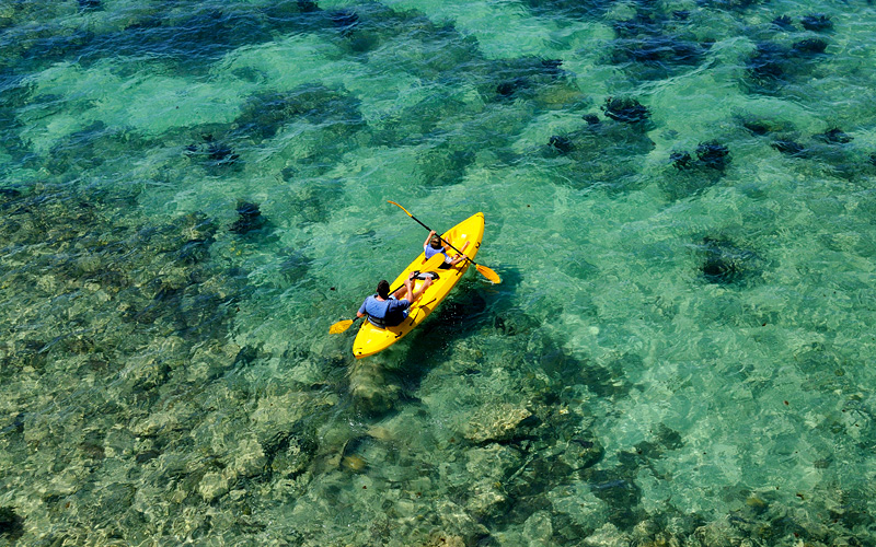 Kayaking in Fort Hamilton Bermuda Carnival Cruises