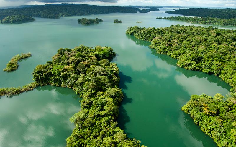 Gatun Lakes Carnival Cruises Panama Canal